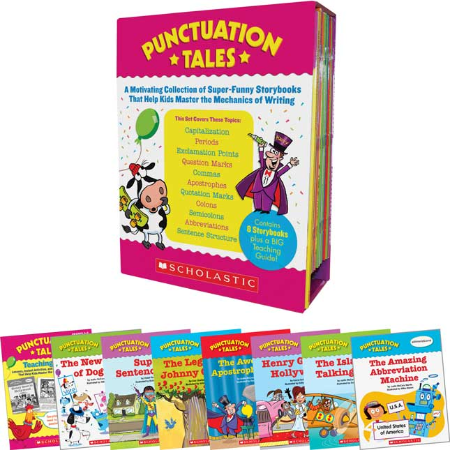 Punctuation Tales - 8 books