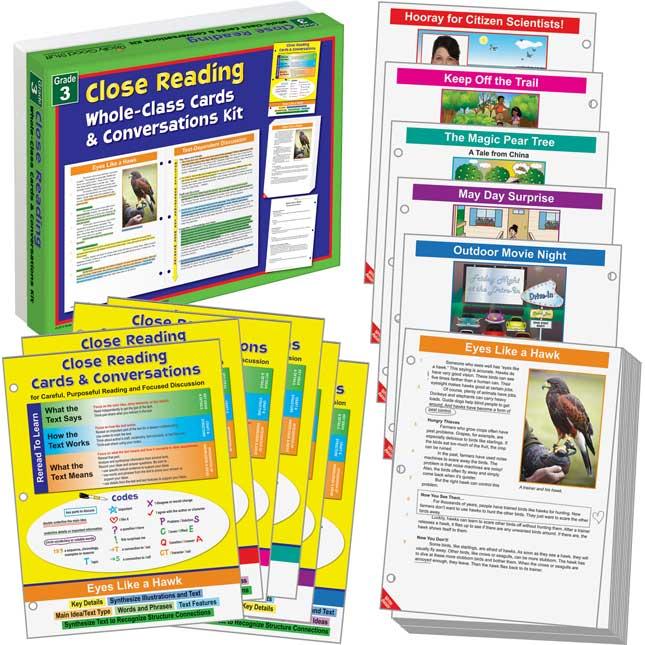 No Prep Close Reading Guided Passages - Grade 3
