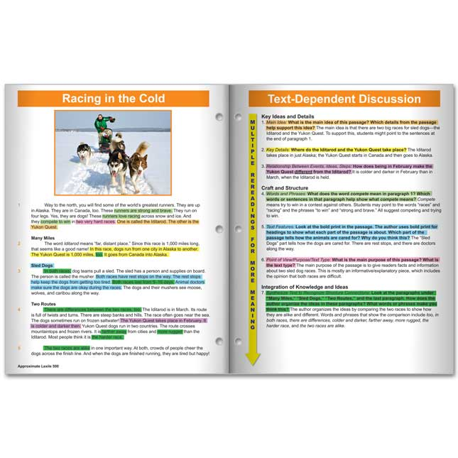 No Prep Close Reading Guided Passages - Grade 2