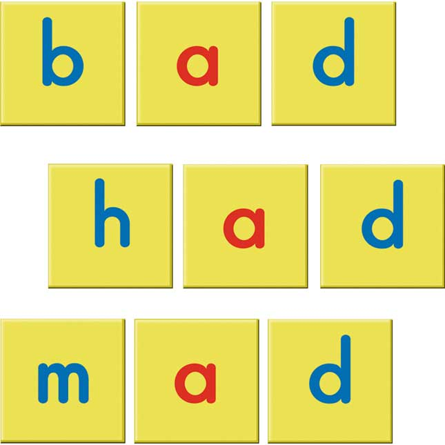 EZread Soft Touch™ Magnetic Foam Letter Tiles