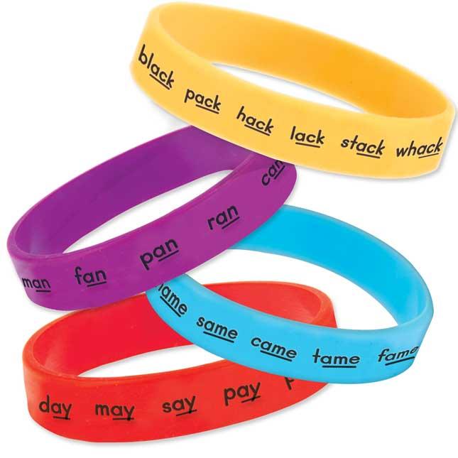 Rhyme Bracelets - 24 bracelets