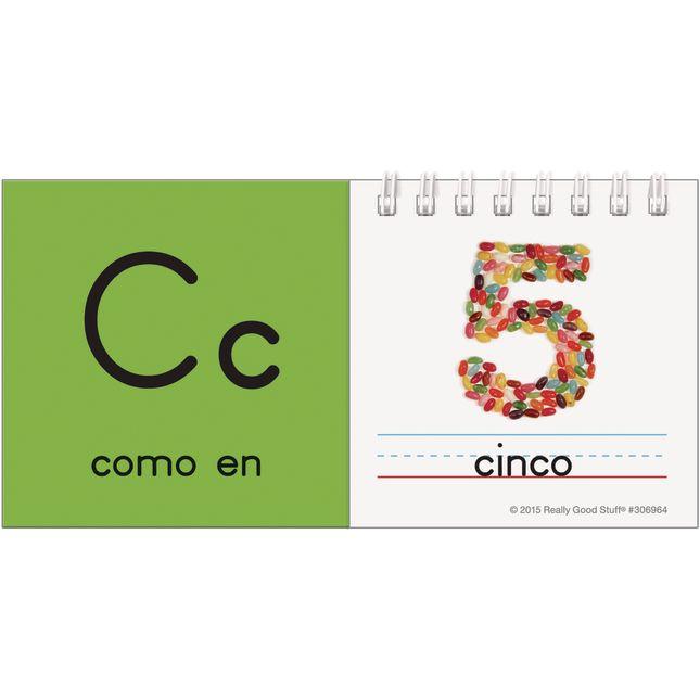 Spanish Alphabet Flip Books - 28 flip books