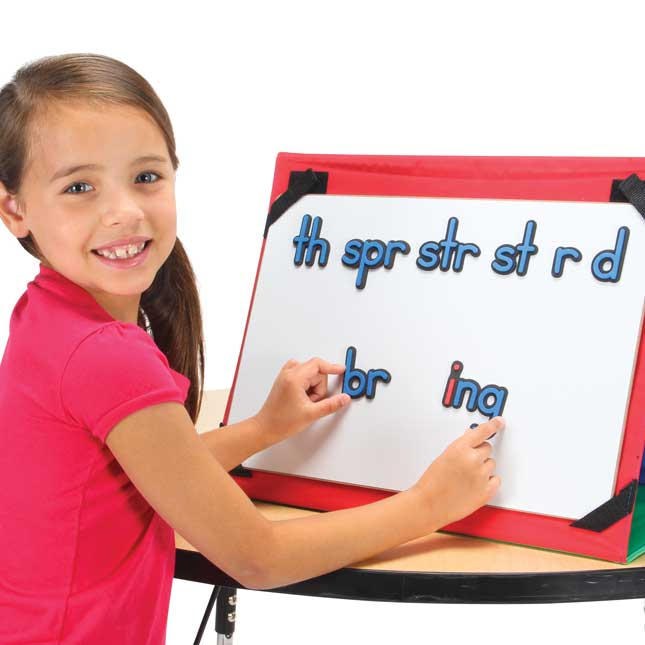Ezread™ Soft Touch Magnetic Making And Breaking Word Study Set