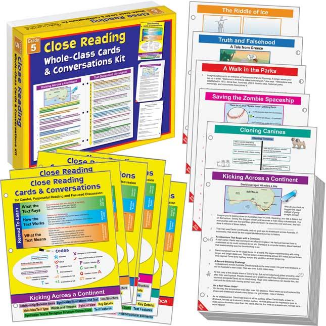 No Prep Close Reading Guided Passages - Grade 5