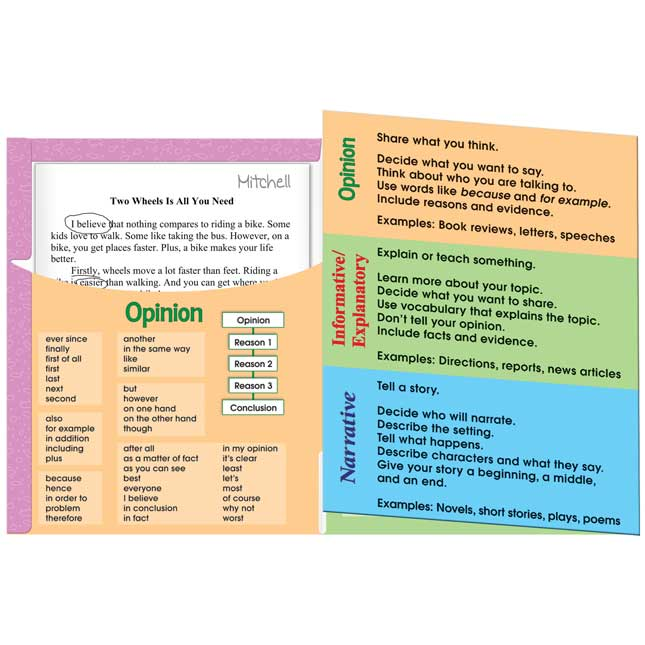 Primary Text Types Poster And Folder Kit