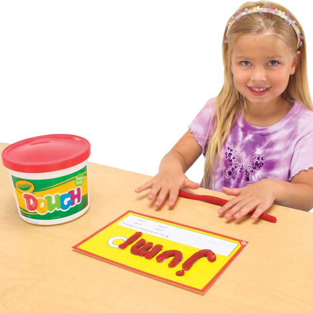 Dolch Pre-Primer Sight Words Dough Kit - 1 kit