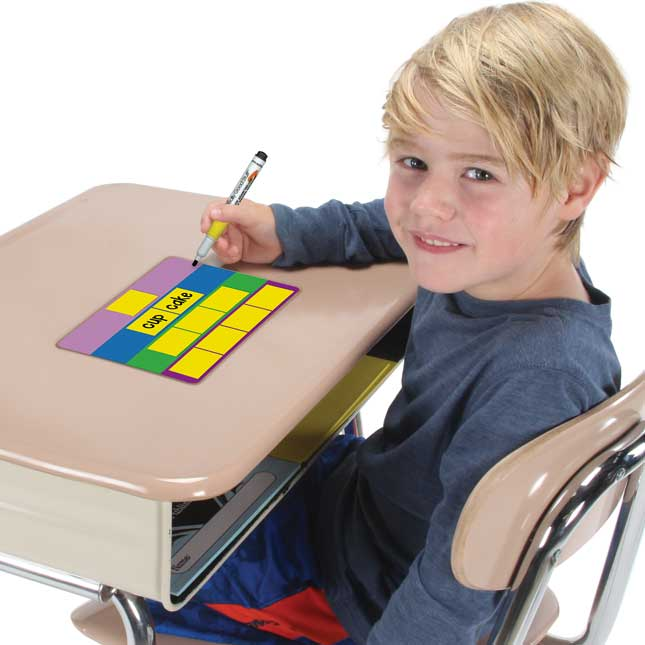 Sound And Syllable Box Dry Erase Boards - 6 Pack