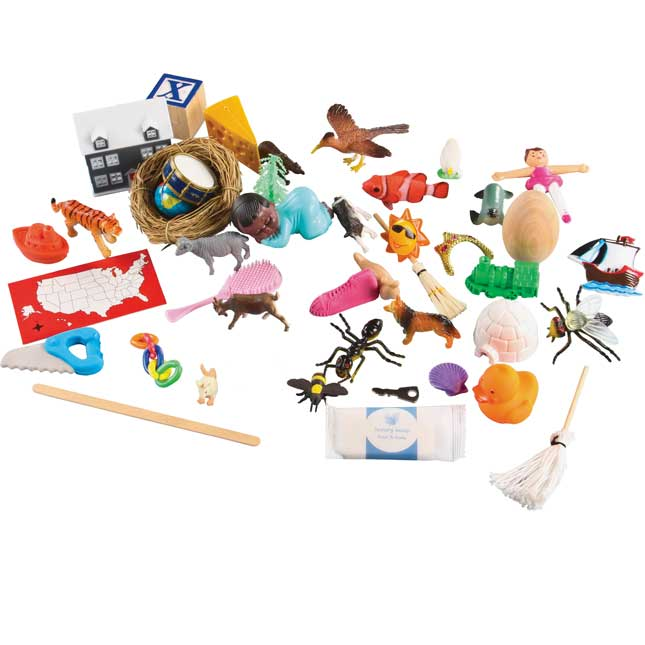 3-D Sound Box Objects And Mats Set