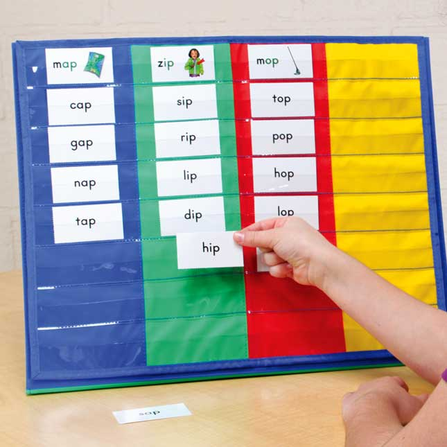 Essential Word Sorts™ Demonstration Cards For The Primary Grades, 2nd Edition, And Pocket Chart