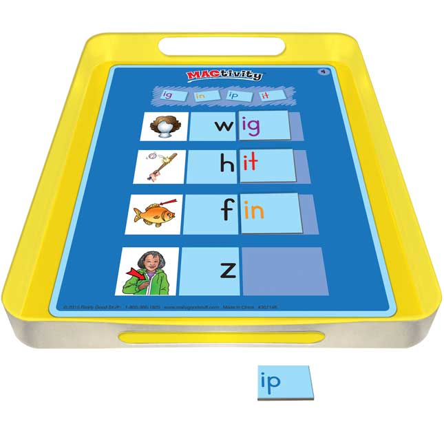 Really Good MAGtivity™ Tins Short Vowel Word Families Kit
