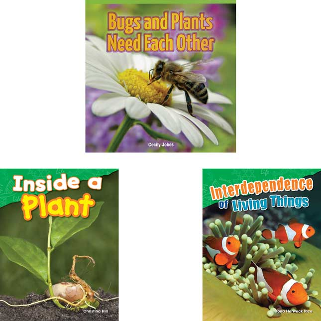 Worlds Of Wonder: Plants And Insects 6-Book Set