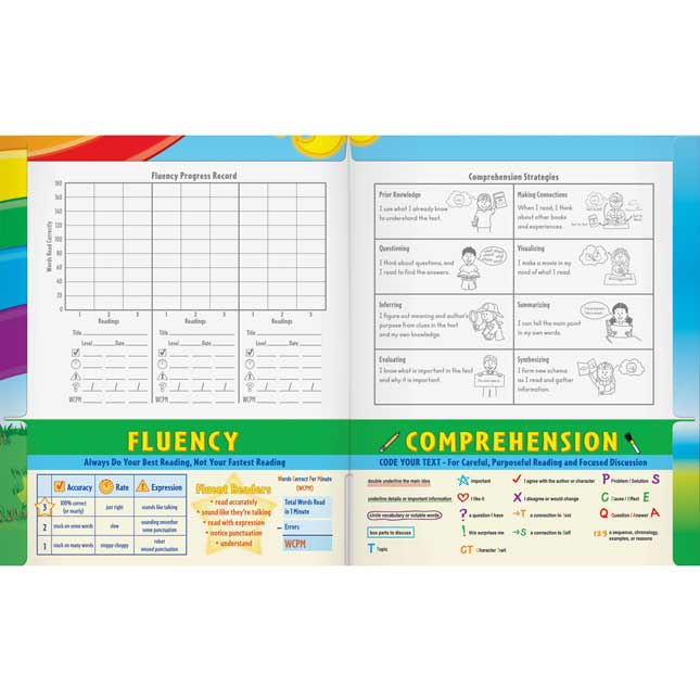 Fluency For Comprehension: Assorted, Holiday and Science Passages With Folders - Grade 3