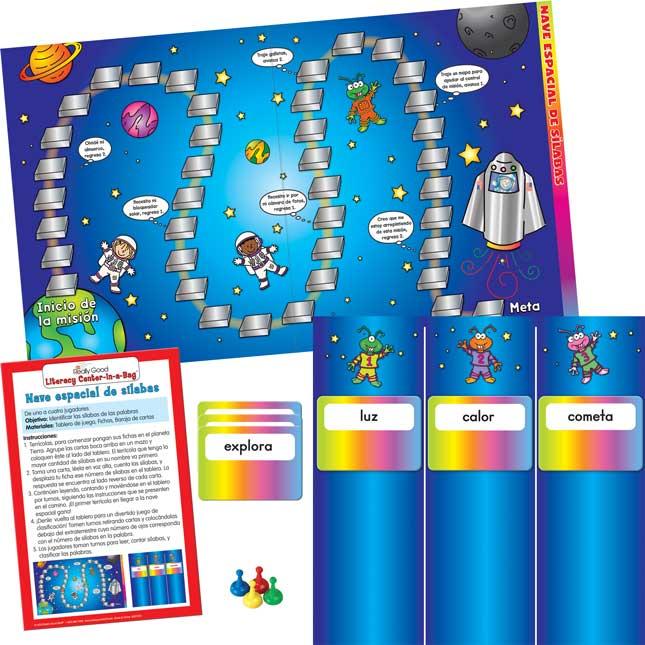 Spanish Syllable Spaceship (Nave Espacial De Silabas)