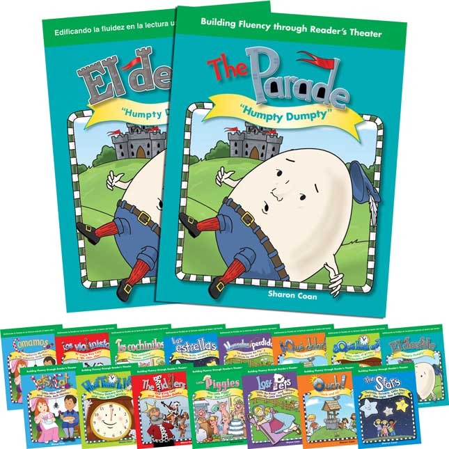 Reader's Theater: Dual Language Nursery Rhymes Kit