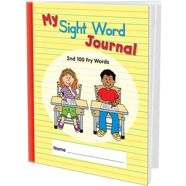 My Sight Word Journals: 2nd 100 Fry Words