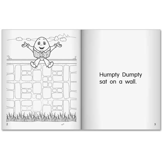 My Own Tiny Take-Homes™: Nursery Rhymes - 36 books