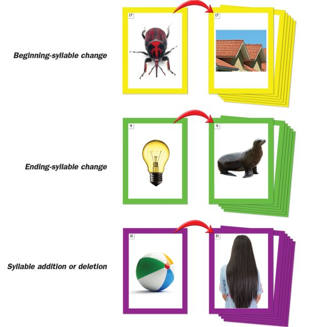 Spanish Word Building Desktop Pocket Chart Tent and Cards Kit