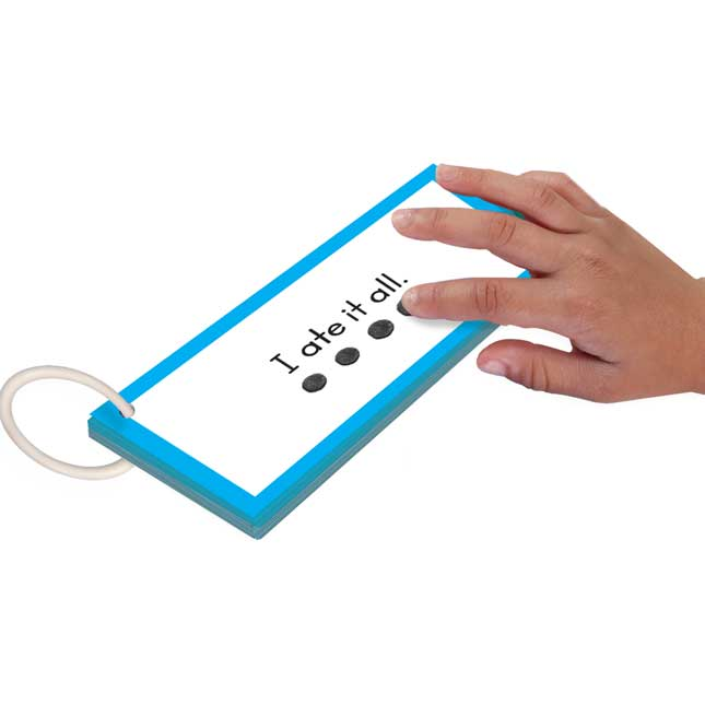 EZRead Dolch Primer Tap and Track™ Sight Word Sentences