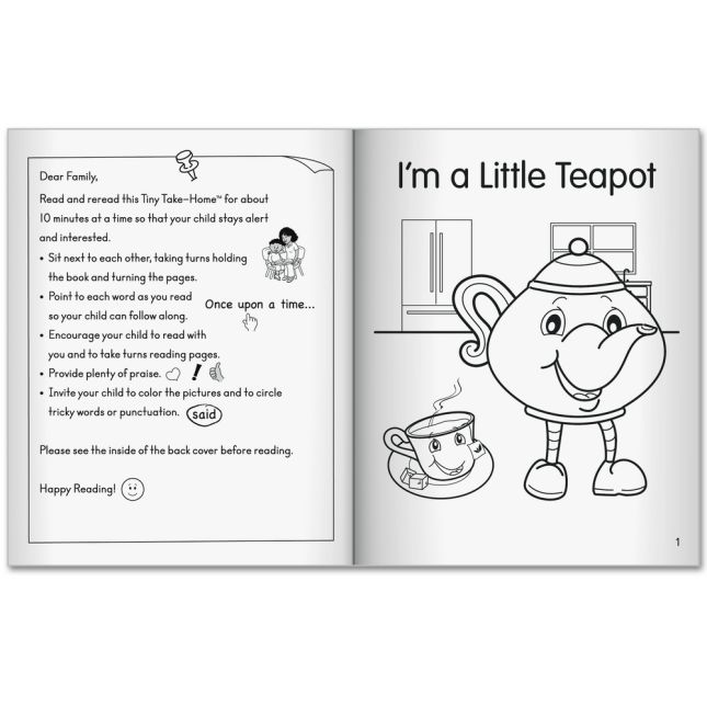 My Own Tiny Take-Homes™: Nursery Rhymes and Folktales Set
