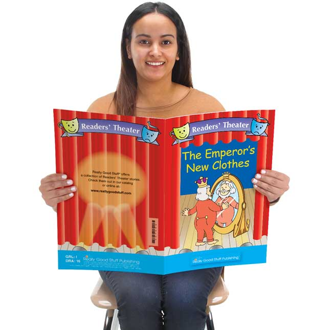 Really Good Readers' Theater - The Emperor's New Clothes Student And Big Book Set