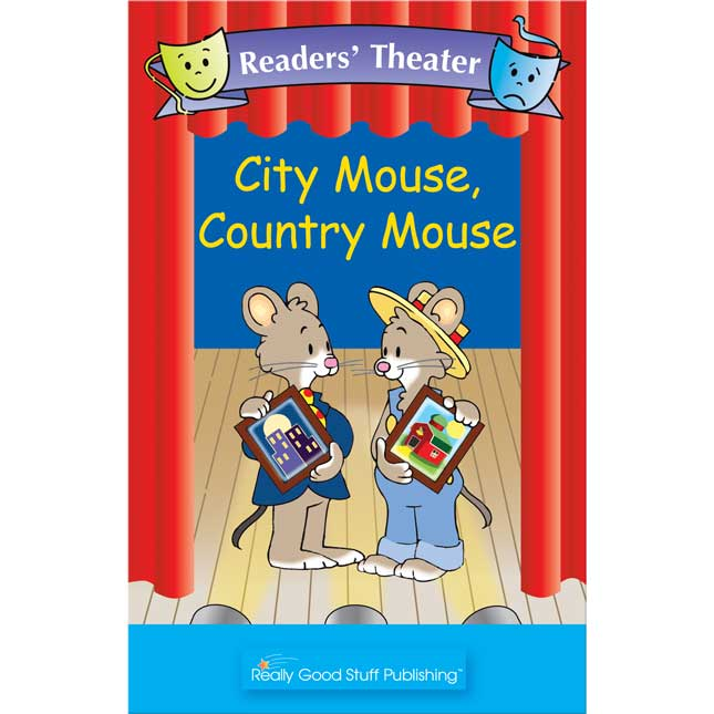 Really Good Readers' Theater - City Mouse, Country Mouse Big Book - 1 book