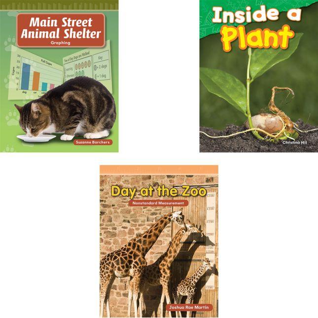 STEM 10-Book Reader Set - Grade 1