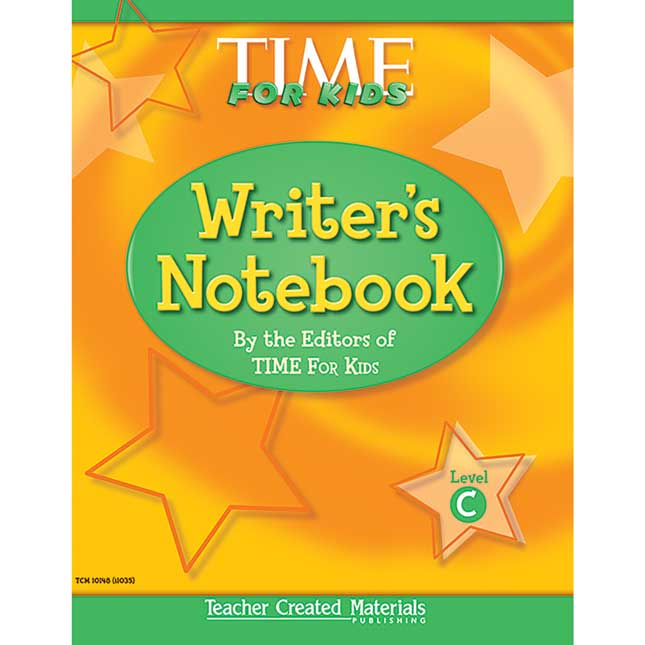 Time For Kids® Writer's Notebook - Level C