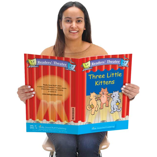 Really Good Readers' Theater - Three Little Kittens Big Book - 1 book