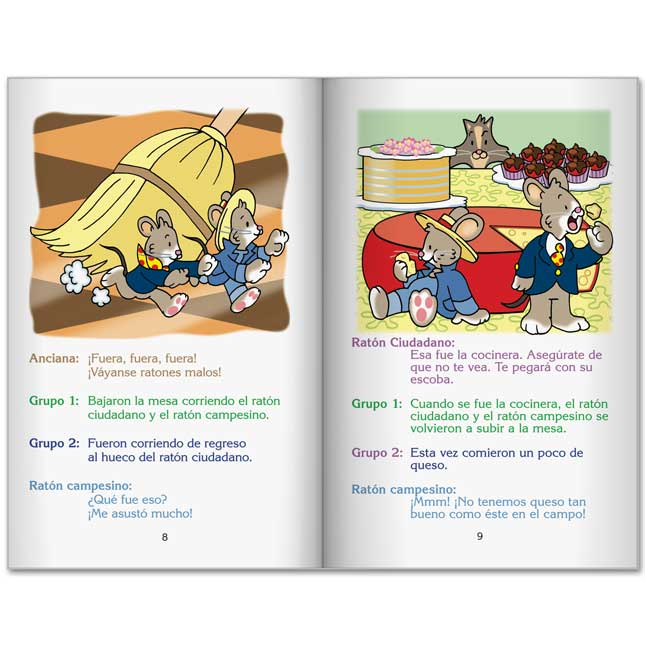 Really Good Readers' Theater: City Mouse, Country Mouse (Teatro Del Lector: Raton Ciudadano, Raton Campesino) - 6 books