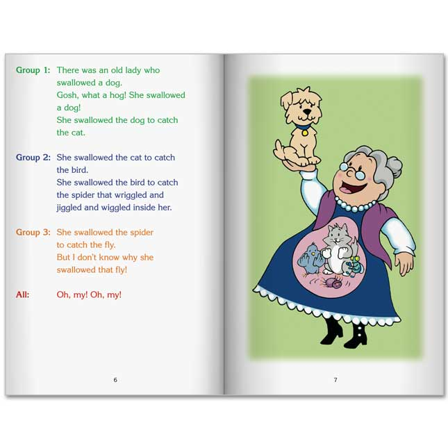 Really Good Readers' Theater - The Old Lady Who Swallowed A Fly Big Book - 1 book