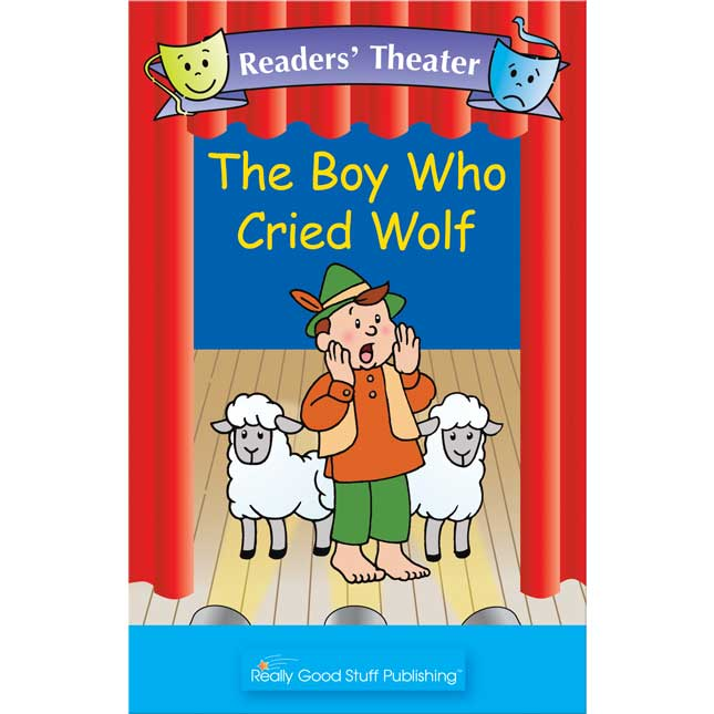 Really Good Readers' Theater - The Boy Who Cried Wolf Big Book - 1 book