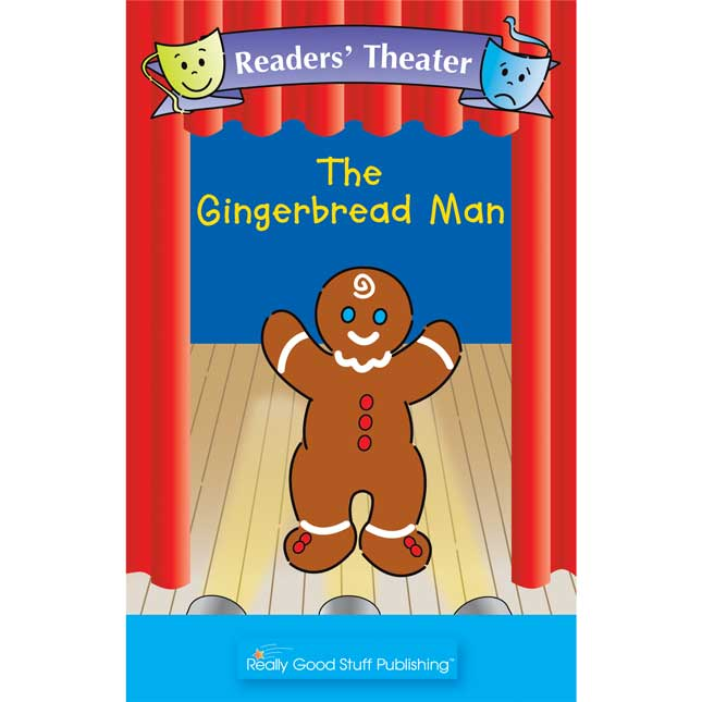 Really Good Readers' Theater - The Gingerbread Man Big Book - 1 book