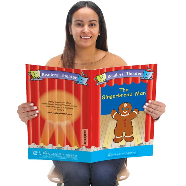 Really Good Readers' Theater - The Gingerbread Man Student And Big Book Set