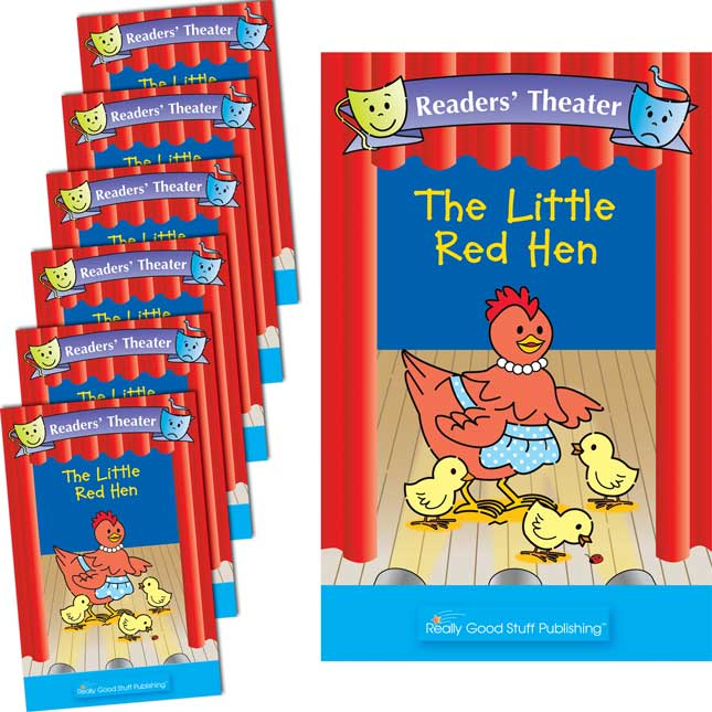 Really Good Readers' Theater - The Little Red Hen Student And Big Book Set