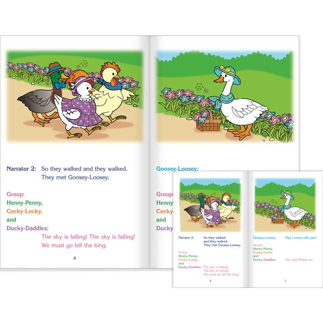 Really Good Readers' Theater - Henny-Penny Student And Big Book Set