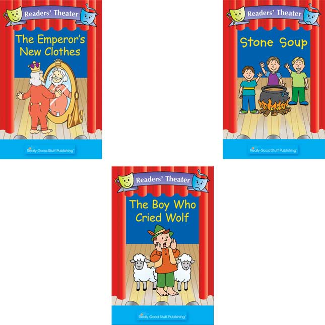 Really Good Readers Theater Folktales Big Books - Set 1