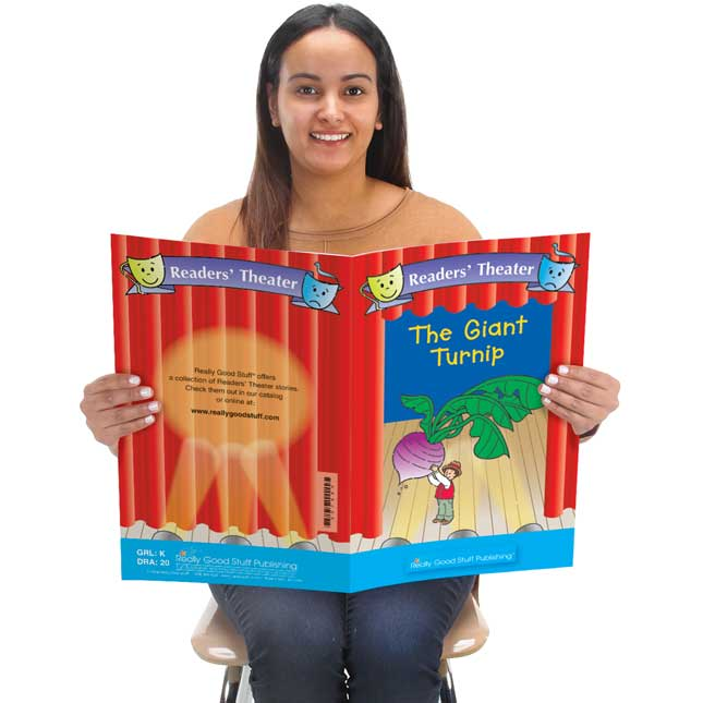 Really Good Readers' Theater - The Giant Turnip Student And Big Book Set