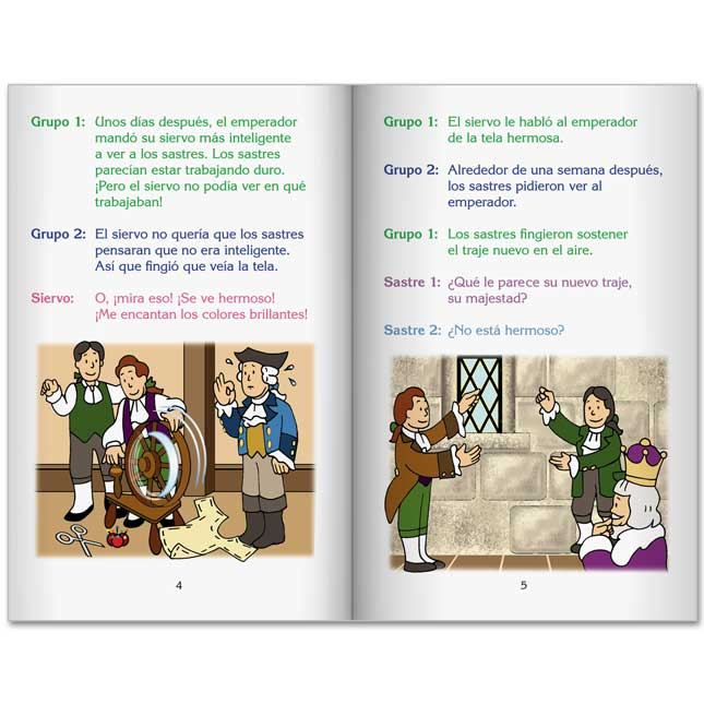 Spanish Readers' Theater Folktales Student Package - Set 1