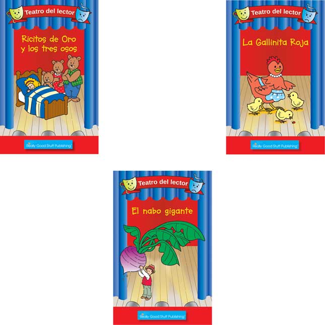 Spanish Readers' Theater Folktales Student Package - Set 2