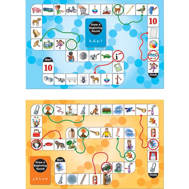 Draw A Beginning Sound Board Games
