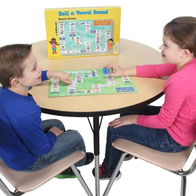 Roll A Vowel Sound Board Games