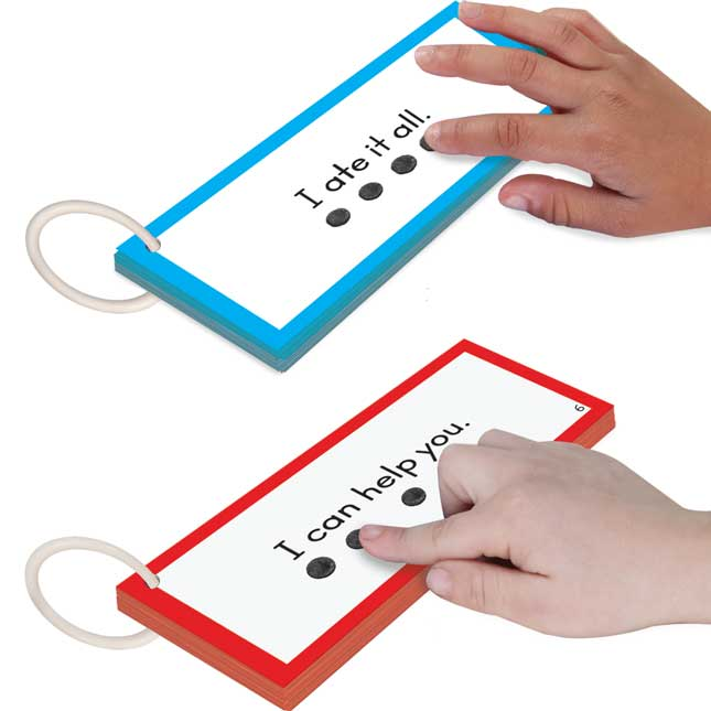EZRead Dolch Tap and Track™ Sight Word Sentences Set