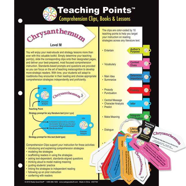 Teaching Points™: Clips and Trifold Lesson Plan - Chrysanthemum