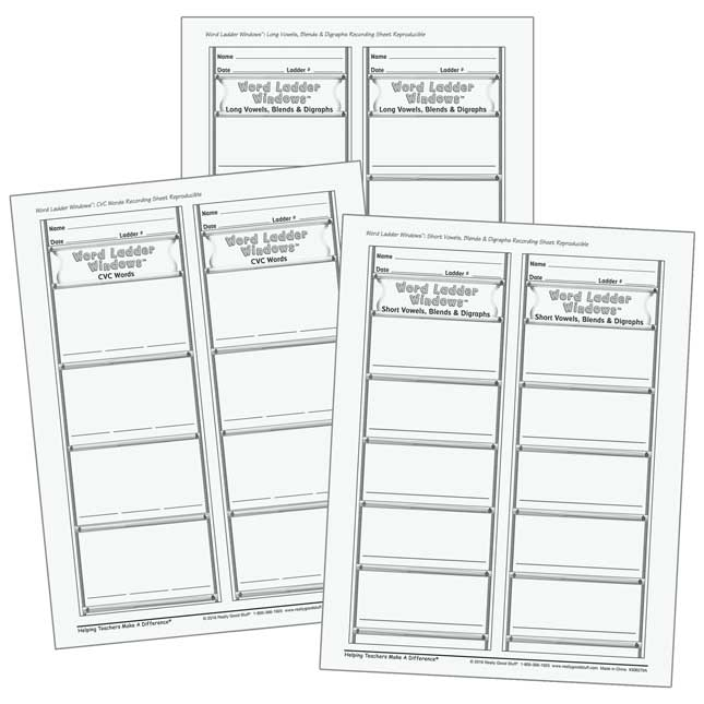 Word Ladder Card Sets