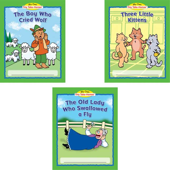 My Own Tiny Take-Homes™: Folktales - Set 2