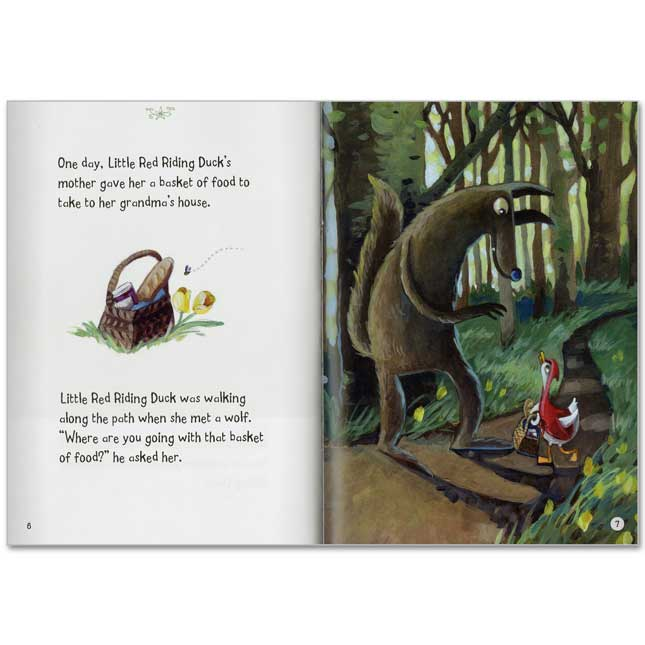 Fairy Tales In Multiple Formats: Little Red Riding Hood - 8 Books