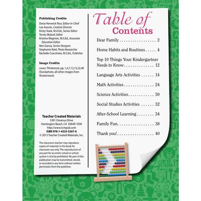 Kindergarten Parent Guide For Your Child's Success - 25-Book Set