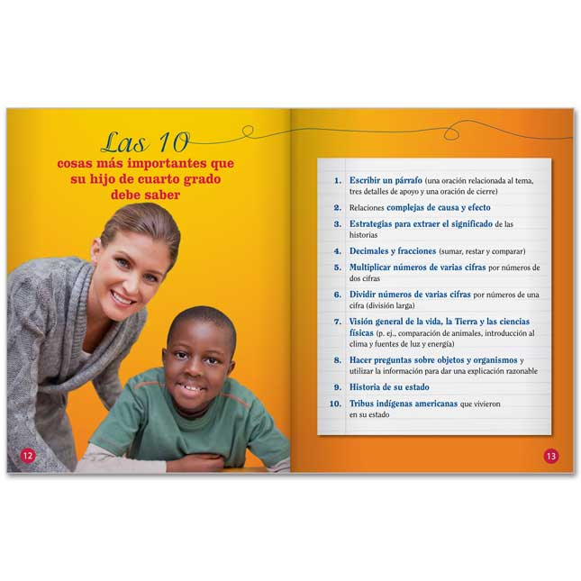 Cuarto Grado Guia Del Padre Para El Exito De Su Hijo - 25-Book Set
