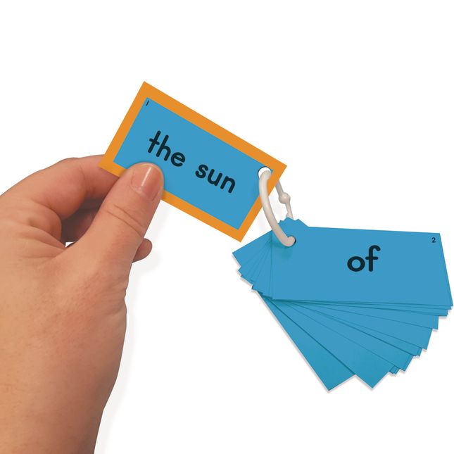 EZread™ Sight Word Mini Flash Cards: Fry 1-50 - 300 cards