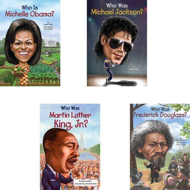 Who Was/Is...? Famous African Americans, 14-Book Set